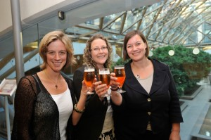 Women MPs attend a Dea Latis tasting