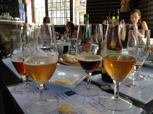Beer and cheese tasting_glasses