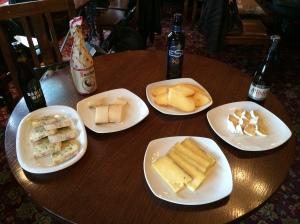 Dea Latis beer + cheese
