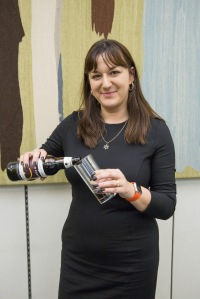 Ruth Smeeth with Plum Porter