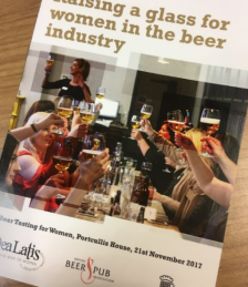 Raising a glass for women in the beer industry